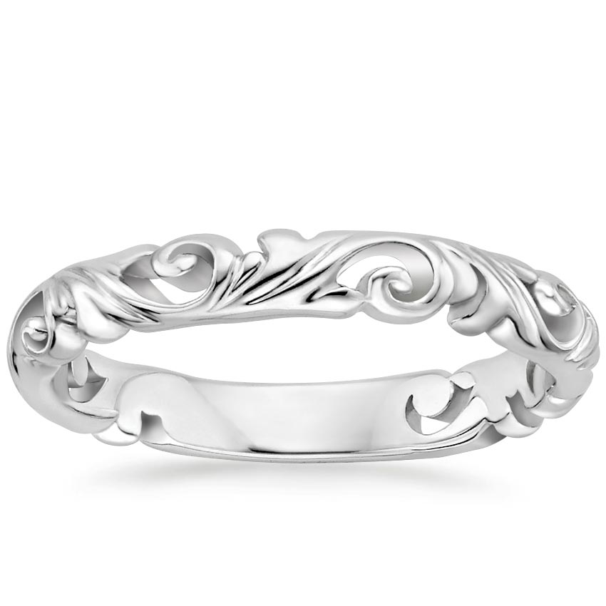 Scrollwork Wedding Ring