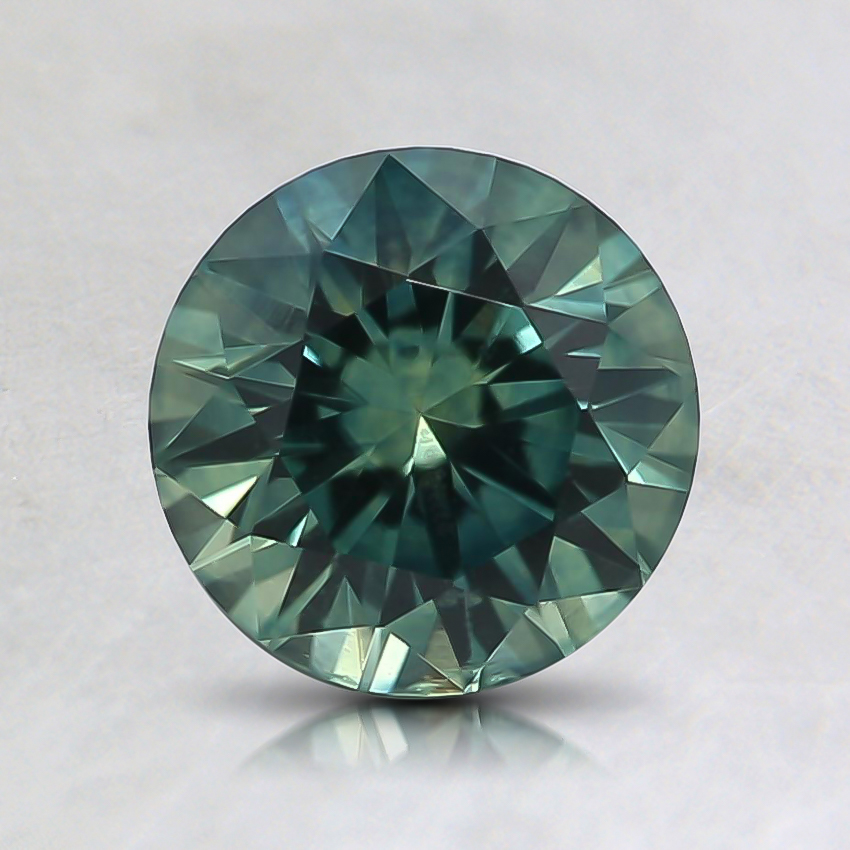 6.6mm Teal Round Sapphire