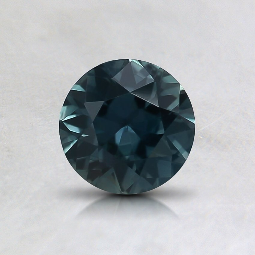 5.5mm Unheated Round Teal Sapphire