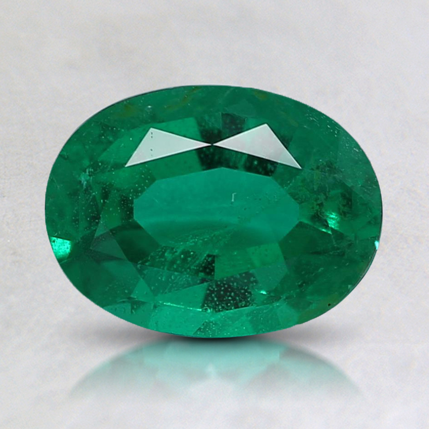 8.1x6.1mm Oval Emerald