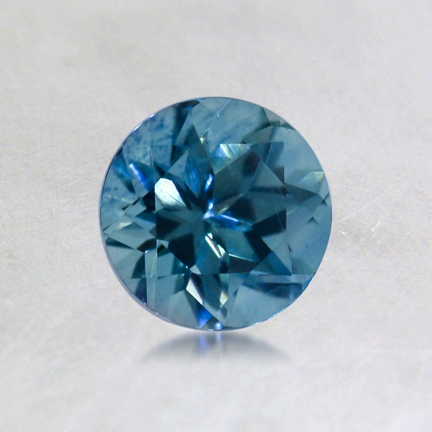 5.5mm Malawi Teal Round Sapphire