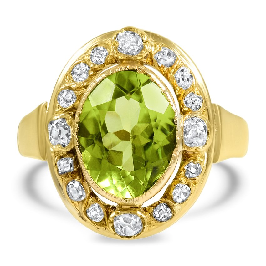 Retro Peridot Vintage Ring