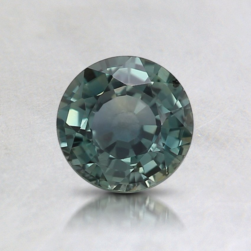 5.5mm Teal Round Sapphire