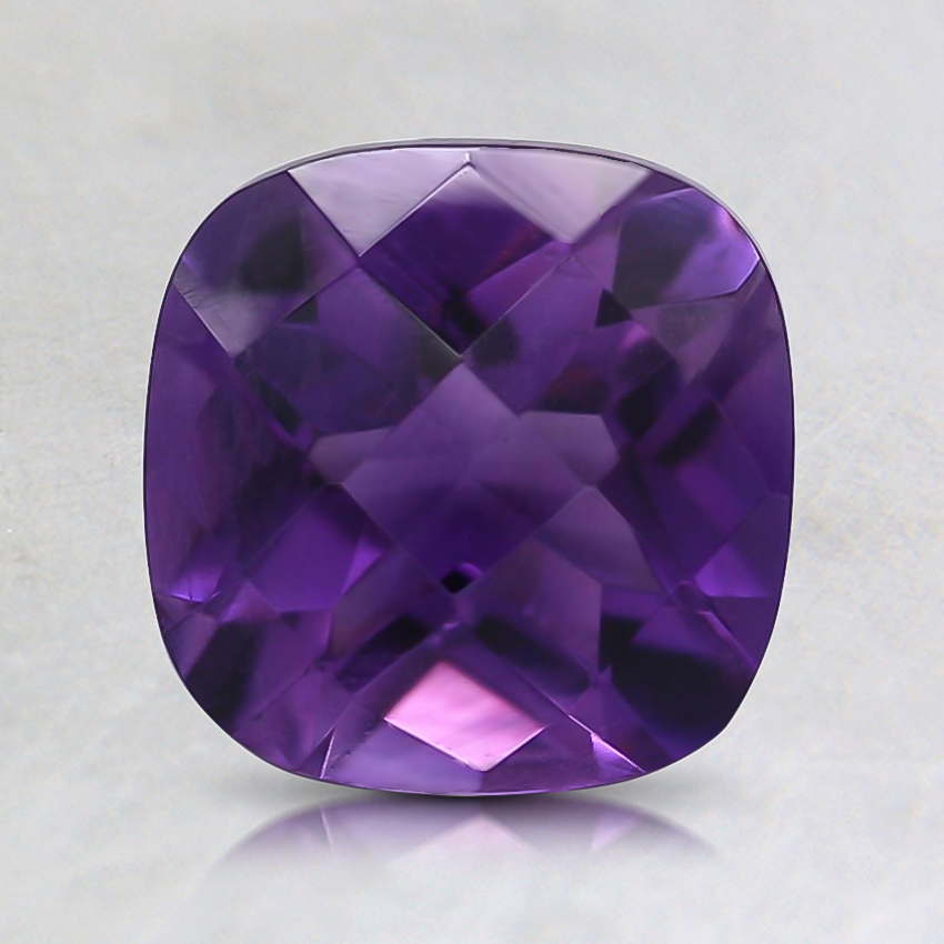 7mm Fine Cushion Amethyst