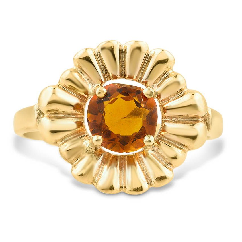 The Sharlene Ring, top view