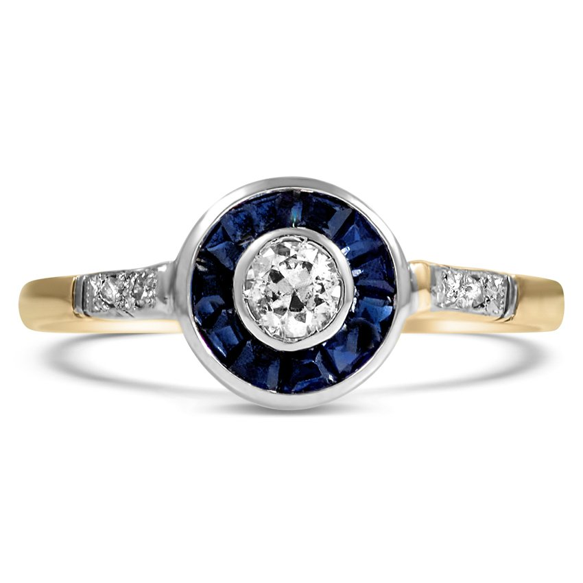 deco vintage ring rodeo brilliant earth
