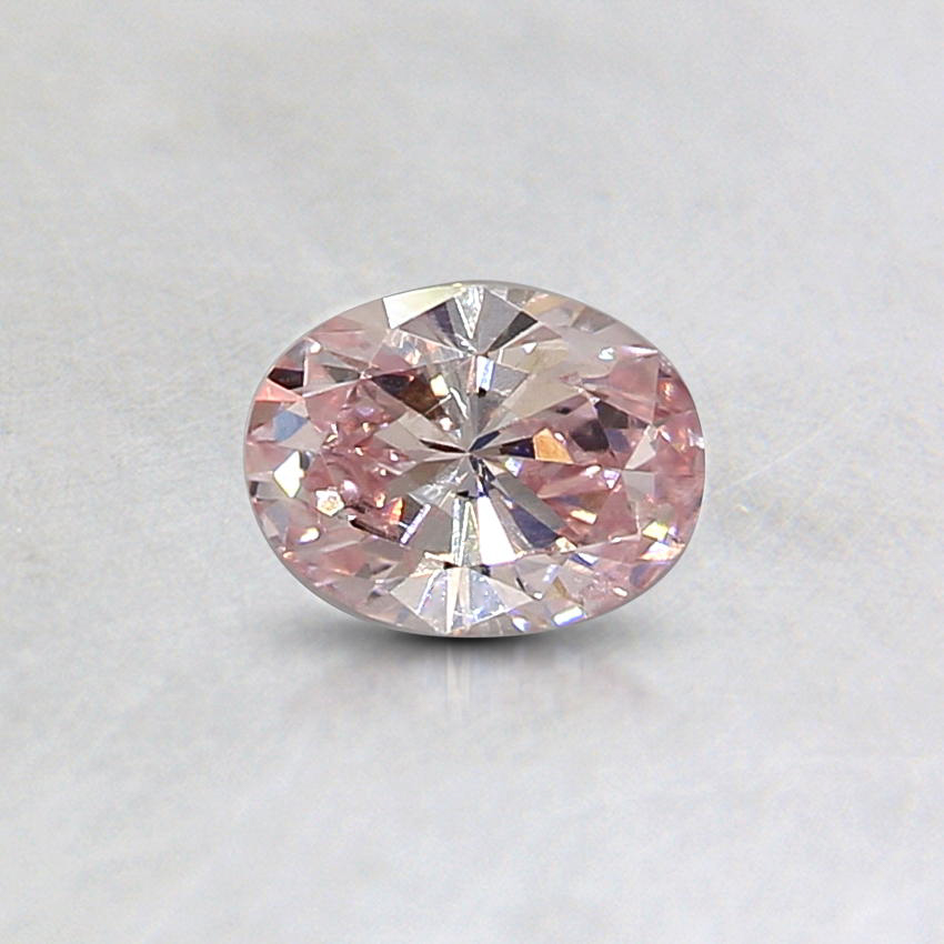 0.24 Ct. Natural Fancy Pink Oval Diamond