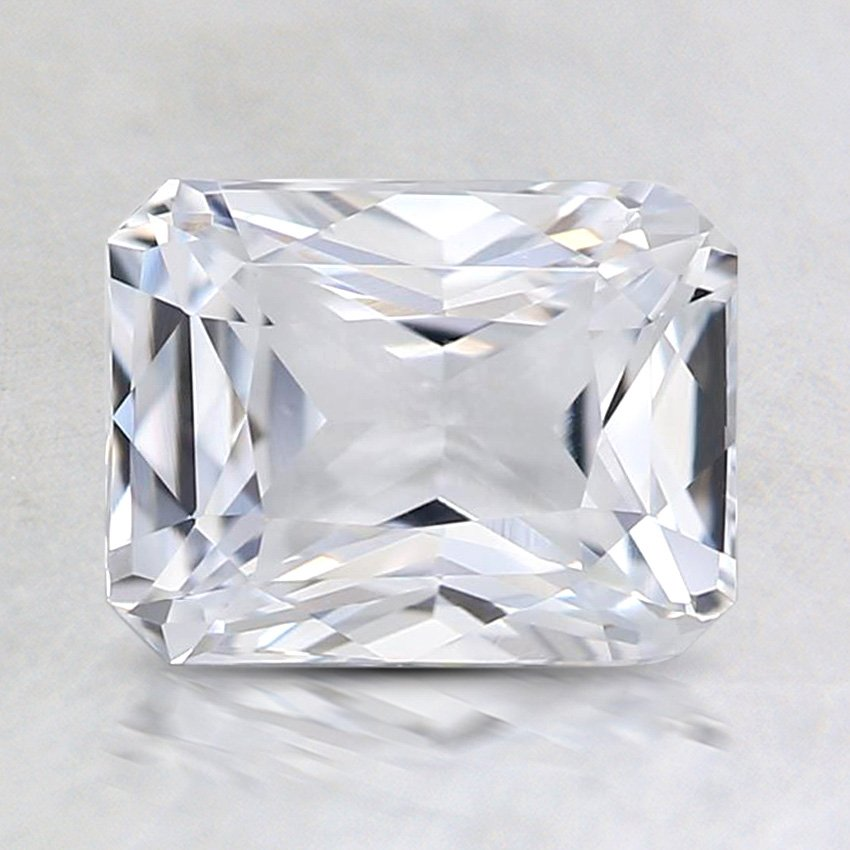 7.5x6mm Unheated White Radiant Sapphire