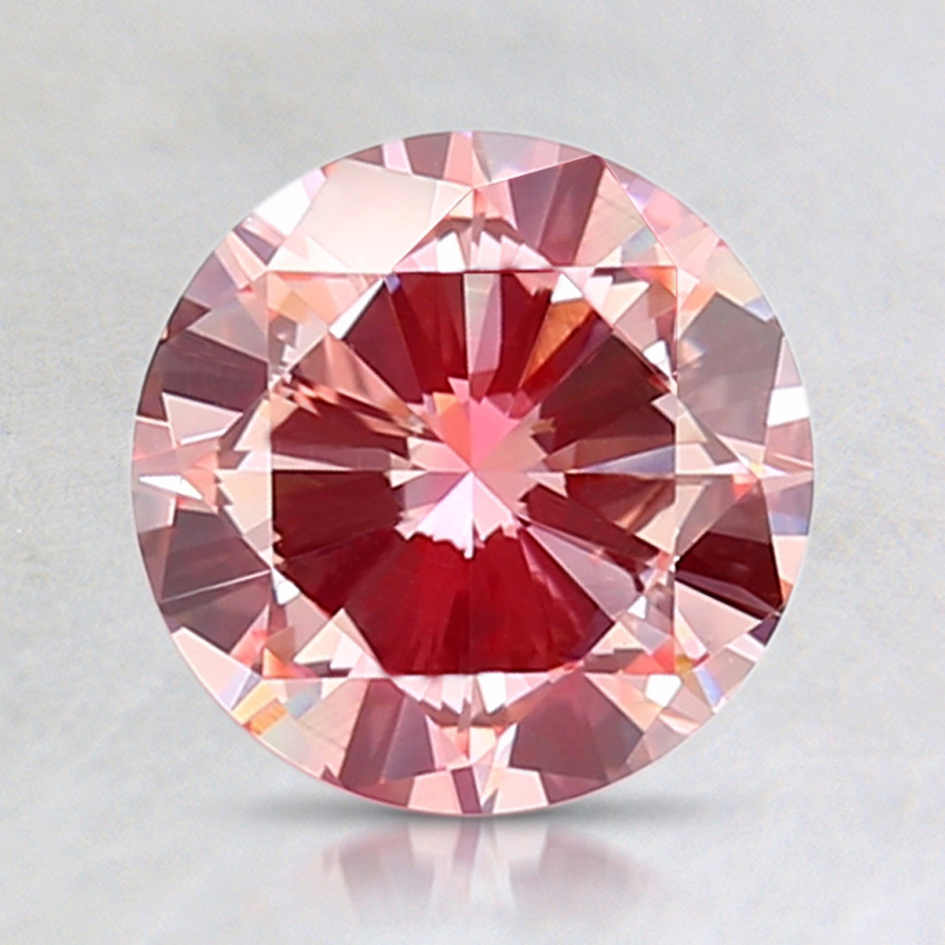 1.50 Ct. Fancy Pink Round Lab Created Diamond