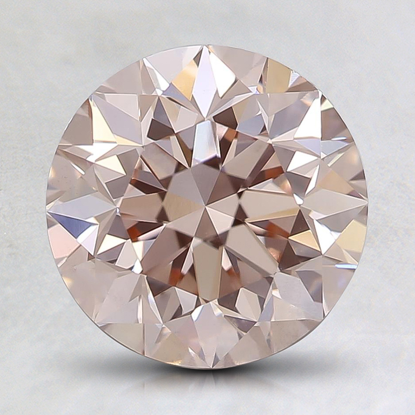 2.00 Ct. Fancy Light Pink Round Lab Created Diamond