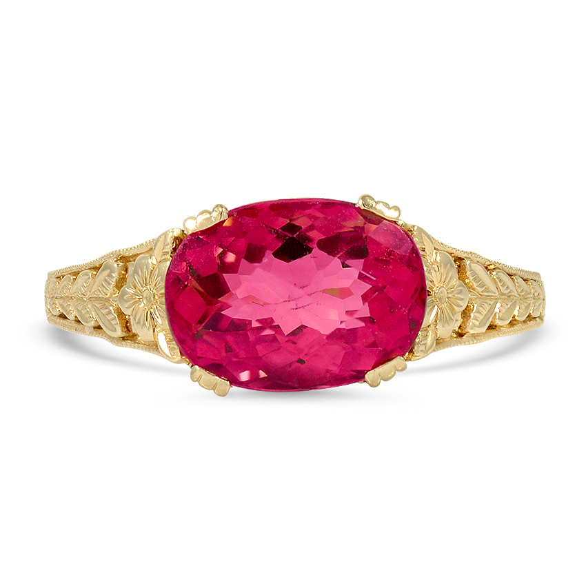 Modern Reproduction Tourmaline Vintage Ring
