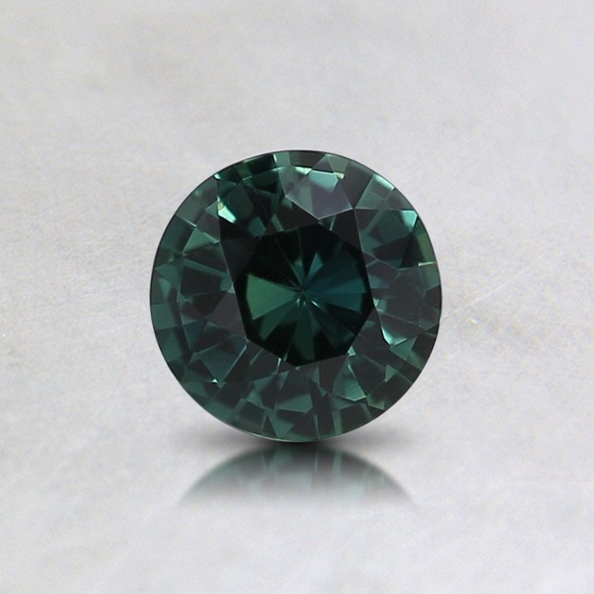 5mm Teal Round Sapphire
