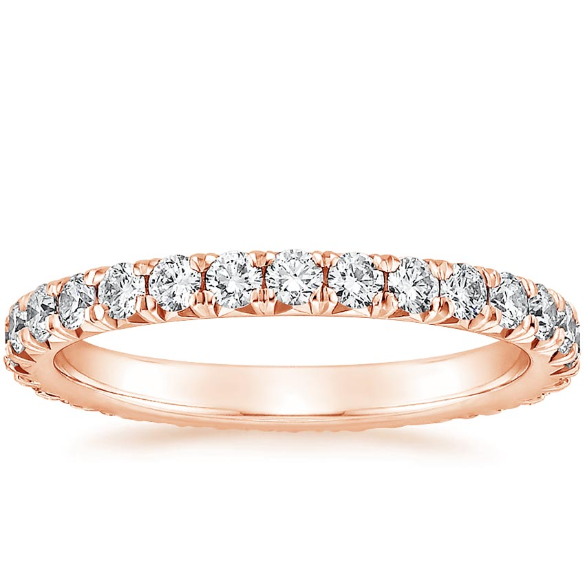 Rose Gold Sienna Eternity Diamond Ring (7/8 ct. tw.)