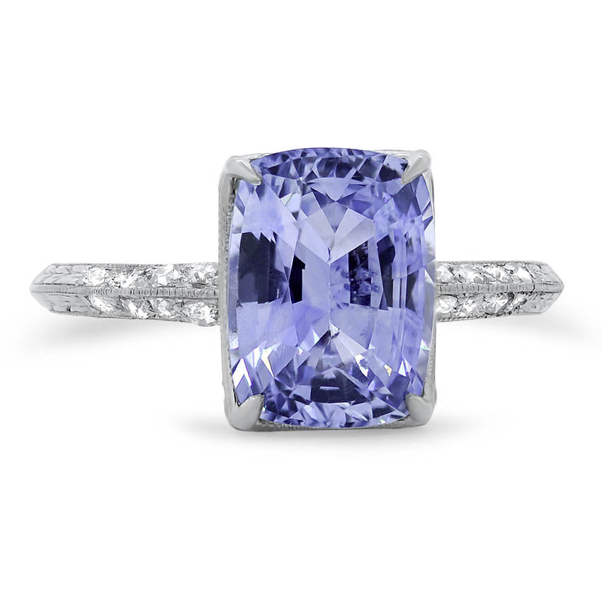 Art Deco Sapphire Vintage Ring Bellerose