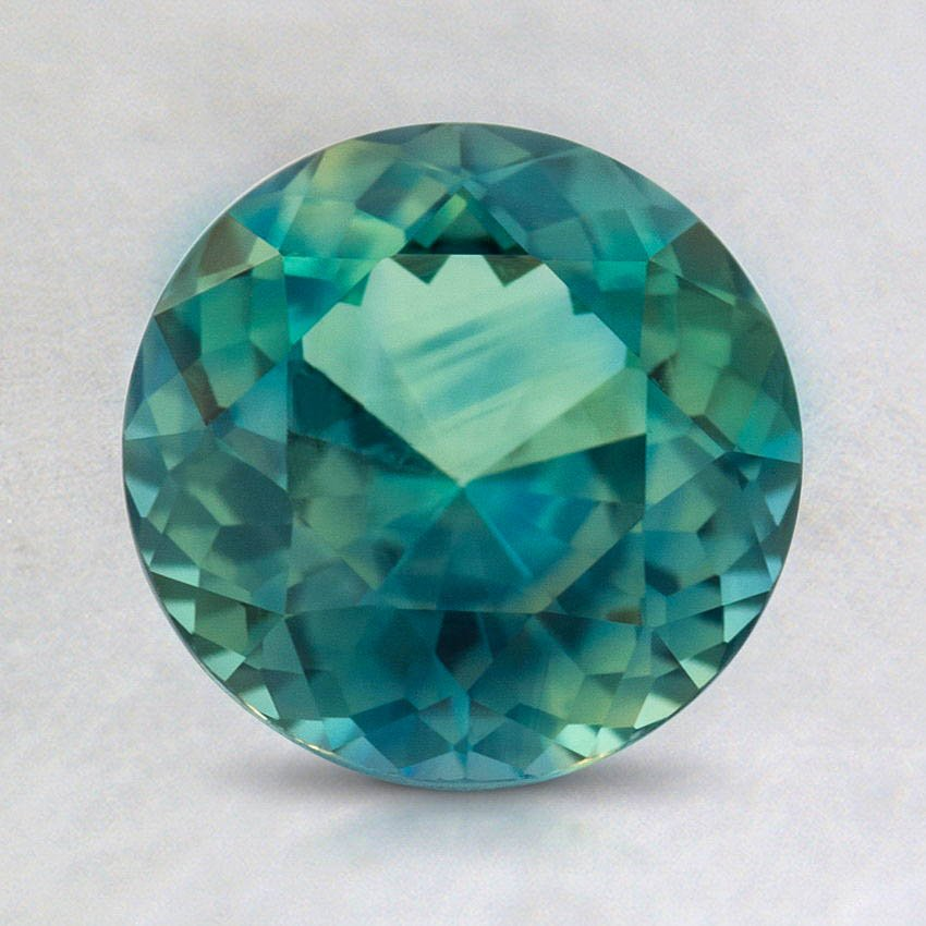 7.5mm Teal Round Sapphire
