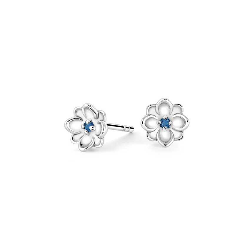 Magnolia Topaz Earrings