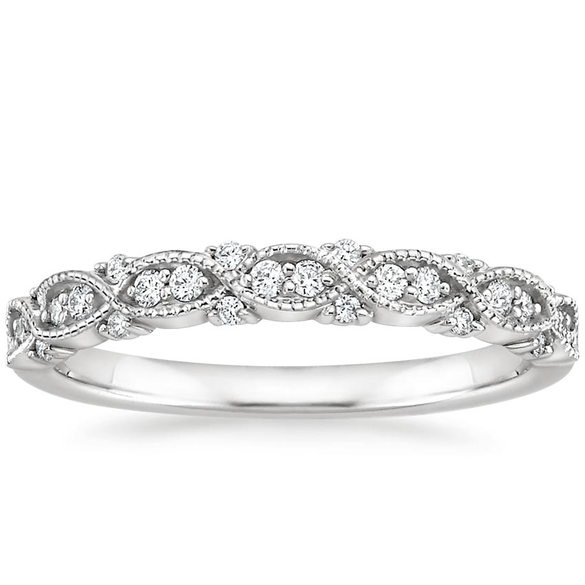 Amore Diamond Ring in Platinum