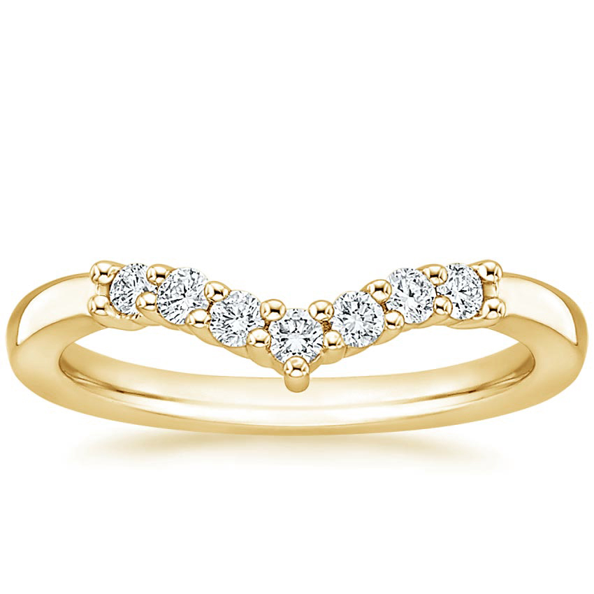 Yellow Gold Verona Diamond Ring