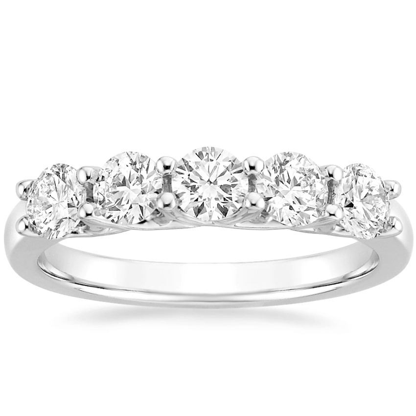 Top Twenty Anniversary Gifts - FIVE STONE TRELLIS LAB DIAMOND RING (1 CT. TW.)
