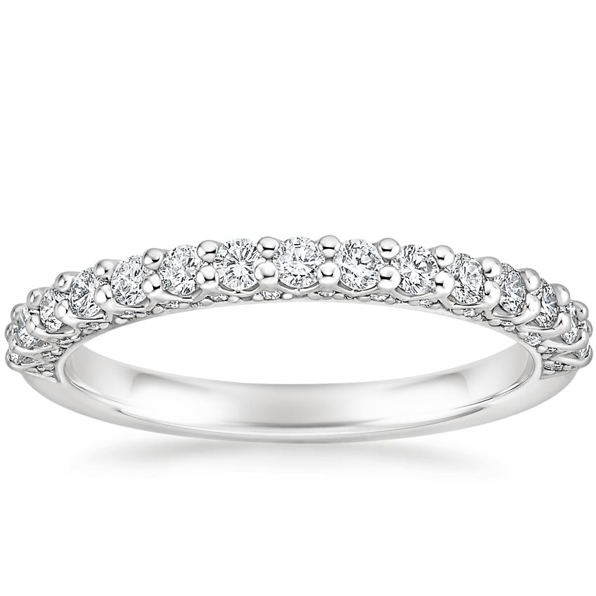 Diamond Profile Wedding Band