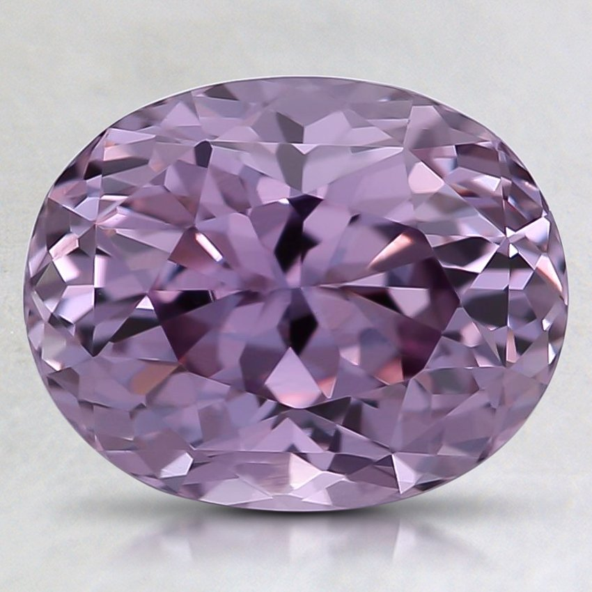 9.4x7.5mm Unheated Purple Oval Sapphire