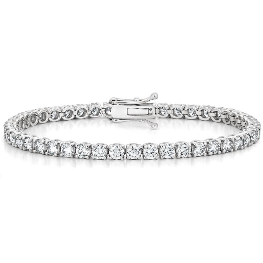 8faaf5d9c61 18K White GoldCertified Lab Created Diamond Tennis Bracelet (7 ct. tw.)