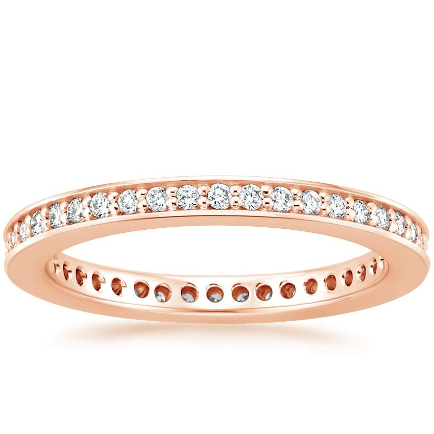 Rose Gold Starlight Eternity Diamond Ring (1/3 ct. tw.)