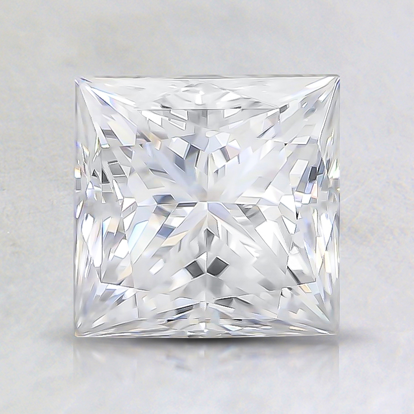 6.5mm Super Premium Princess Moissanite