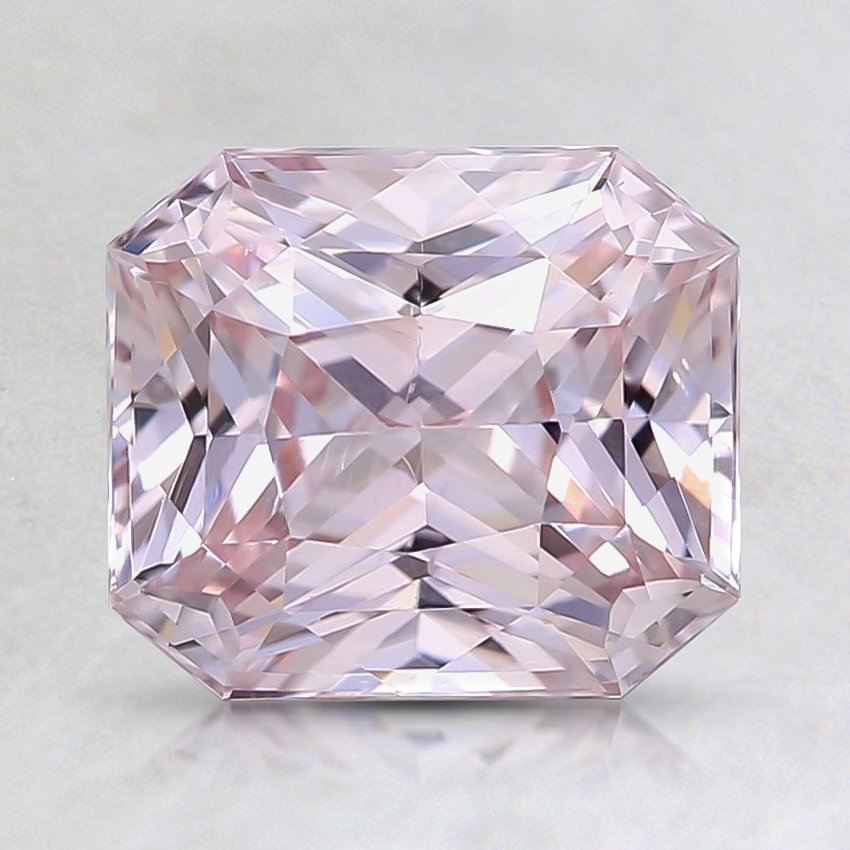 7.5x6.6mm Unheated Pink Radiant Sapphire