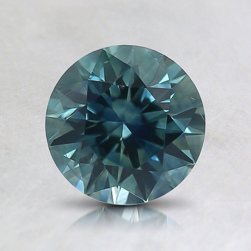 6.5mm Teal Round Montana Sapphire