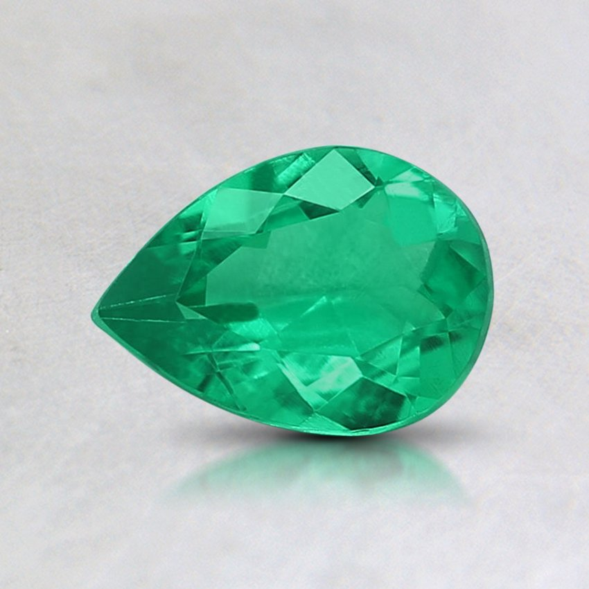 7x5mm Premium Pear Emerald