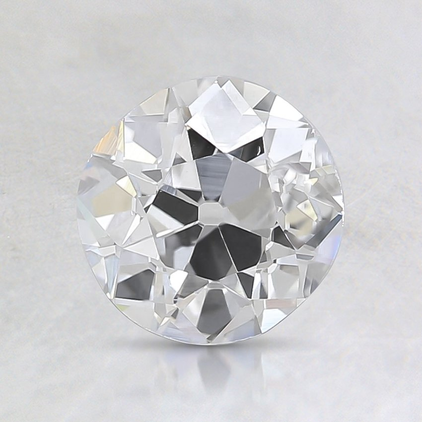 1.00 Ct., D Color, VS2, Old European Cut Diamond