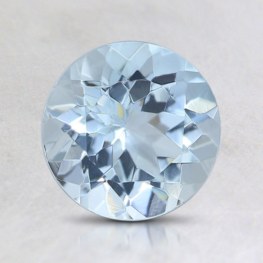 7mm Fine Round Aquamarine