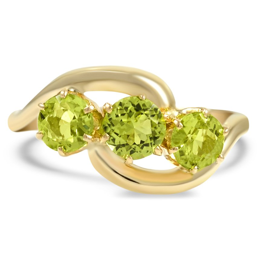 The Luiza Ring, top view