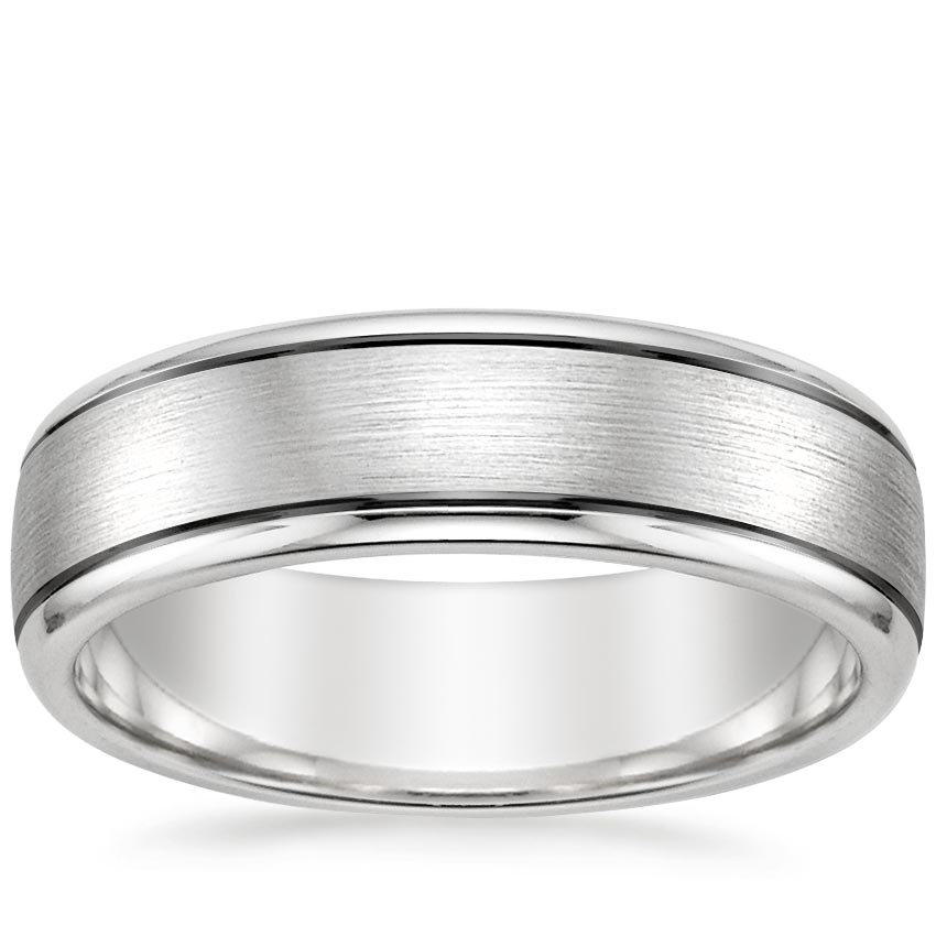 Top Twenty Men's Wedding Rings - RAINIER WEDDING RING
