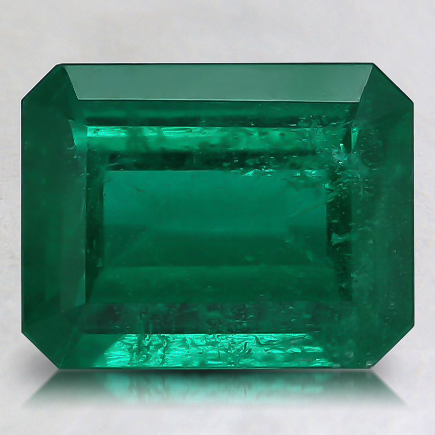 9.1x7.1mm Green Emerald Emerald