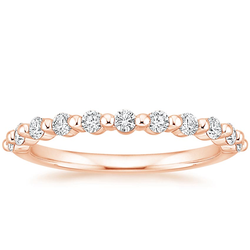Rose Gold Marseille Diamond Ring (1/3 ct. tw.)