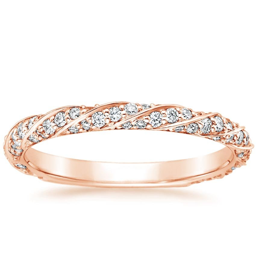 Rose Gold Cordoba Diamond Ring
