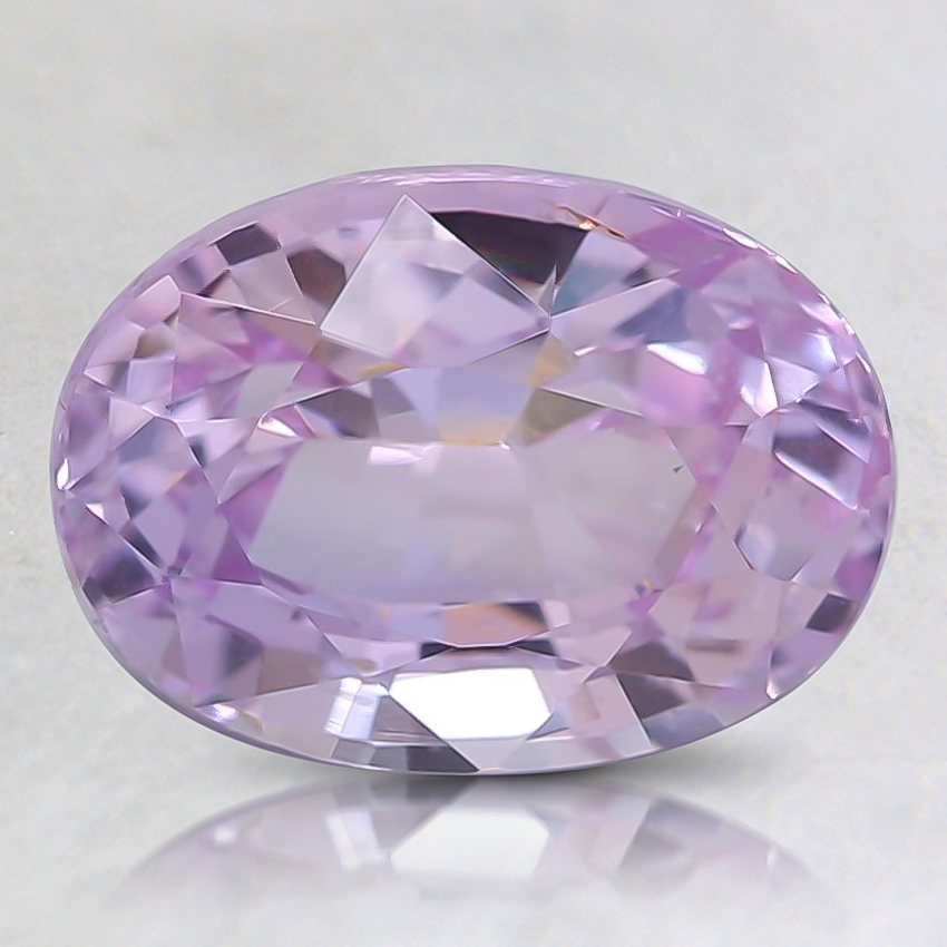 9x6.5mm Pink Oval Sapphire