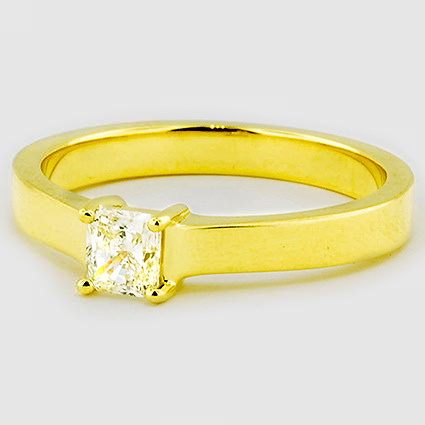 18K Yellow Gold Marina Ring