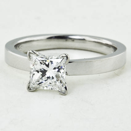 18K White Gold Quattro Ring