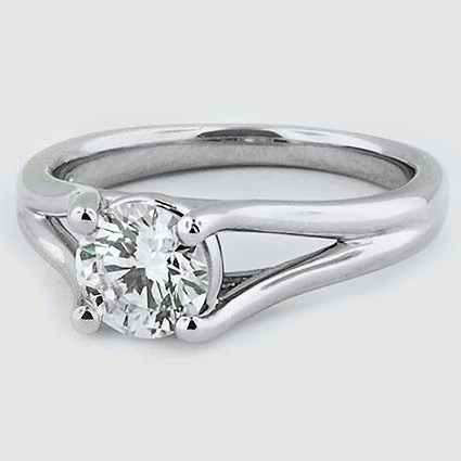 Platinum Unity Ring