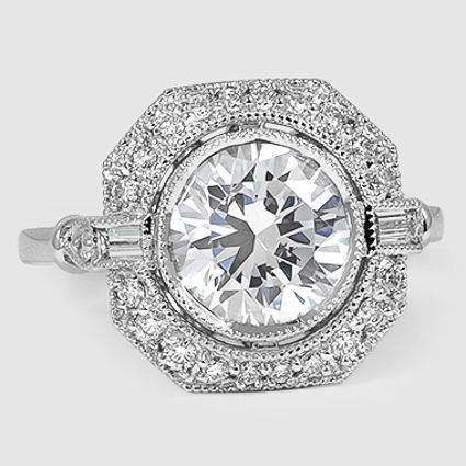 18K White Gold Ostara Diamond Ring (1/4 ct. tw.)