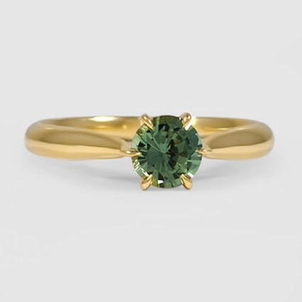 18K Yellow Gold Sapphire Catalina Ring