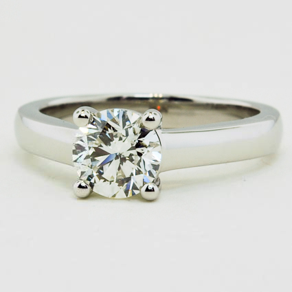 Platinum Trellis Ring
