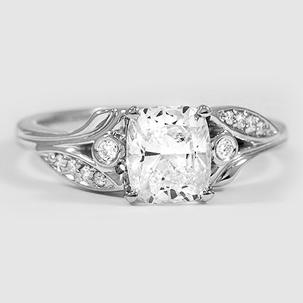Platinum Jasmine Diamond Ring