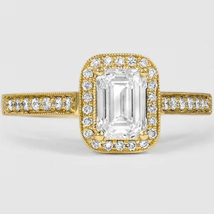 18K Yellow Gold Felicity Diamond Ring