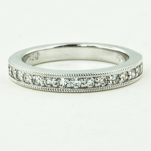 18K White Gold Pavé Milgrain Diamond Ring (1/4 ct.tw.)