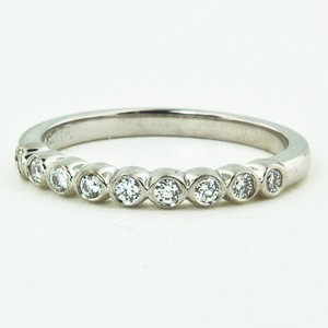 18K White Gold Eclipse Diamond Ring