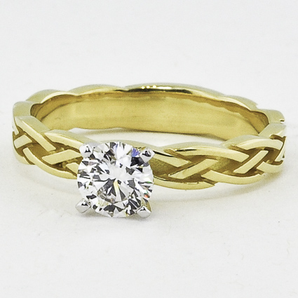 18K Yellow Gold Inverness Ring